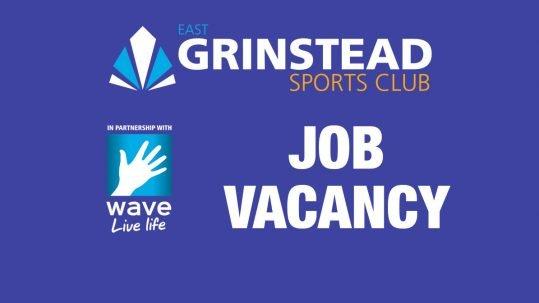 Job Vacancy at East Grinstead Sports Club